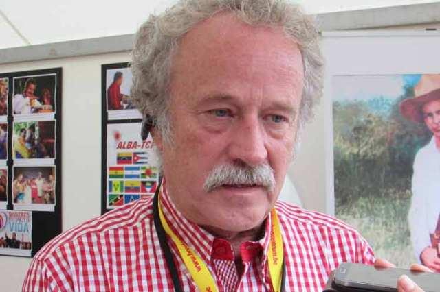 Hendrik Vermeersch, director general del encuentro Manifiesta en Bélgica