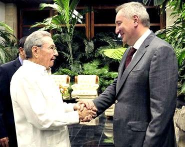 Durante el cordial encuentro ambos dignatarios ratificaron el excelente estado de las relaciones existentes entre las dos naciones.