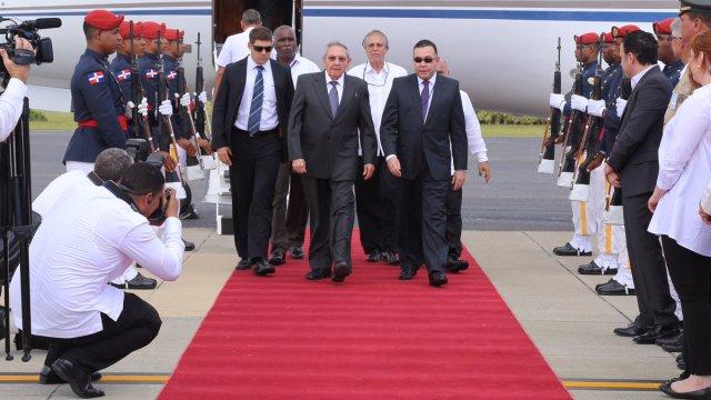 Llegada de Raúl a República Dominicana
