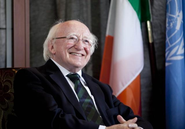 Excelentísimo Señor Michael D. Higgins, Presidente de Irlanda