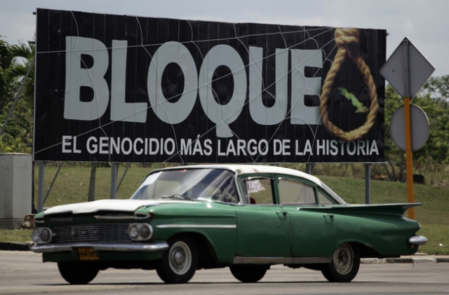 Although the United States didn't fully implement the blockade against Cuba until February 7, 1962, it had been applying similar policies against the island since 1959