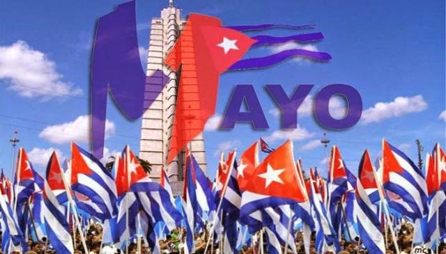 """En Cuba el día 1ero de mayo, se celebra la """" fiesta de los Trabajadores """" y no como en Francia la """" fiesta del trabajo»."""